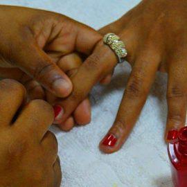 Manicures & Pedecures